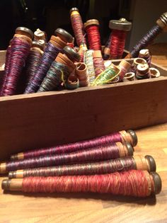 Wonderful colours to compliment my hand dyed fabrics.