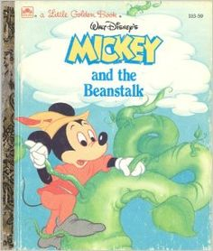 Mickey and the Beanstalk LITTLE Golden Book
