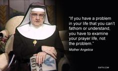 #Thursdaythought #MotherAngelica #Catholic #EWTN
