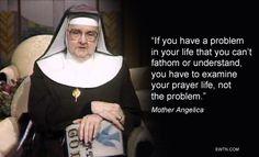 #Thursdaythought #MotherAngelica #Catholic #EWTN