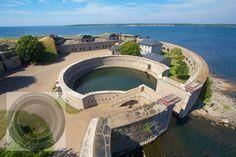 Naval port of  Karlskrona in Sweden