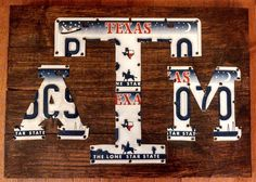 Hey, I found this really awesome Etsy listing at http://www.etsy.com/listing/153563666/texas-am-license-plate-logo