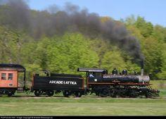 RailPictures.Net Photo: ARA 18 Arcade & Attica Railroad Steam 2-8-0 at Arcade, New York by Andrew Blaszczyk (2):
