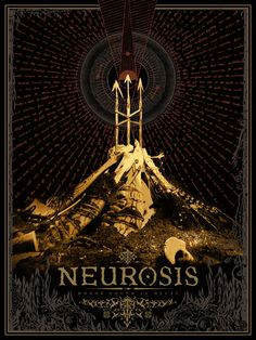 Neurosis: Honor Found In Decay Rock Posters, Band Posters, Concert Posters, Stoner Art, Post Metal, Metal Albums, Psychedelic Art, Third Eye, Music Stuff
