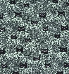 Hide the cat - muntgroen - tricot - For kids