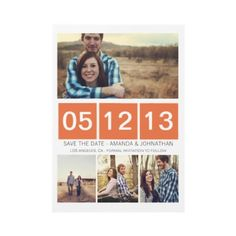 #wedding #Photo Save The Date Invites