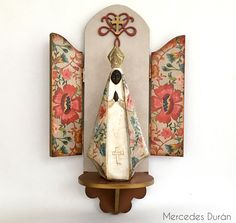Altar, Decoupage, Religious Gifts, First Communion, Ikon, Candle Sconces, Diorama, Stencil, Personalized Gifts