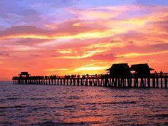 Naples Pier in Florida