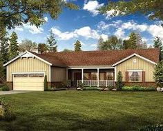 A Ranch Style Home is Ideal for Larger Building Lots and Older Homeowners - http://www.homeadditionplus.com/home-articles-info/Building_Ranch_Style_Home.htm