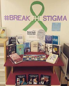 Mental Health Awareness Month Display