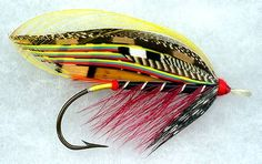 The Black Doctor by Tim Trexler. One of the Doctor series of salmon flies.