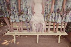 Garden Tea Time Wedding