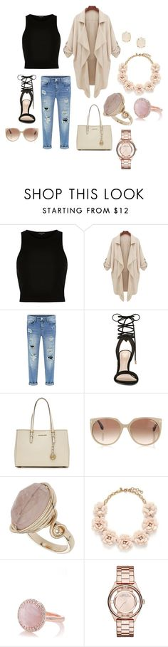 """""""ideas"""" by hannahleighhh on Polyvore featuring River Island, ALDO, MICHAEL Michael Kors, Tom Ford, Topshop, J.Crew, Oasis, Marc by Marc Jacobs and Kendra Scott"""