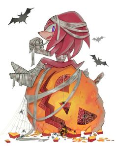 halloween knuckles by sujinee on deviantART I am so happy that this was made! Know why? I was also a mummy 4 Halloween! :D