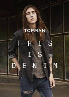 Topman Presents This Is Denim Campaign #focusonejans® #FocusTextil