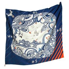 Rumisu is an ethically manufactured luxury design accessories brand, with passion for illustration at its heart. Lady Jade, Fabric Stamping, Scarf Design, Vintage Scarf, New Print, Square Scarf, Silk Scarves, Scarf Styles, Textile Design
