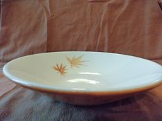 Iroquois Harvest Time Coupe Soup Bowl Ben Seibel Design Informal True China by GrandmothersTable on Etsy Harvest Time, Etsy Shipping, Serving Bowls, Iroquois, Dishes, Dining, Tableware, China, Retro