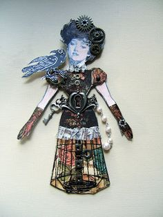 Two Crafting Sisters: SteamPunk Paper Dolls