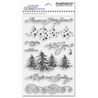 STAMPENDOUS » EVERGREEN BORDERS - CLEAR SET » SSC1012