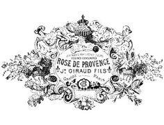 Vintage French Rose de Provence Parfumerie Ad