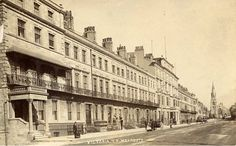 Weymouth, Victoria Terrace, Dorset, Real Photographic Postcard, RP