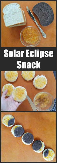 Easy solar eclipse party food or snack idea! Plus solar eclipse science activities for kids, classrooms and scouting.
