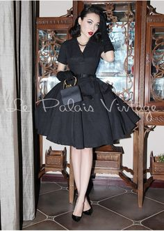 Below for Sizing Chart Sexy Vintage Dresses, Retro Dress, Vintage Outfits, Vintage Fashion, Women's Fashion, Retro Outfits 1950s, 50s Outfits, Ball Dresses, Ball Gowns