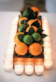 Fruit Centerpieces: 12 Inspiring and Colorful Fruity Centerpieces ...