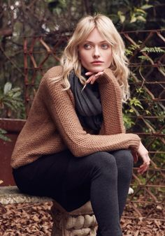 Almond Goldie Jumper | Knitwear, Loungewear | hush | hush-uk.com