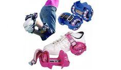 Çocukların ve Gençlerin Heryere Götürebilecekleri Muhteşem Bir Eğlence Aracı Işıklı Paten Flash Roller Fırsatı Sadece 29 TL