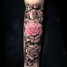 full sleeve tattoo designs drawings – My CMS Rose Tattoos For Women, Tattoos For Women Half Sleeve, Full Sleeve Tattoos, Tattoos For Guys, Fake Tattoos, Pink Rose Tattoos, Tattoo Design Drawings, Tattoo Sleeve Designs, Forarm Tattoos