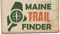 "mainetrailfinder.com  Not really a physical ""product"", but it is a Maine company helping hikers like me find trails to hike on.  Great website and it's maintained by a company in Farmington, ME where I used to live!"