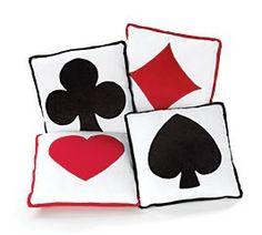 playing card pillow's  ~1eyeJACK~