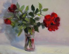 Oil Painting by Pat Fiorello, http://patfiorello.blogspot.com/2014/09/threes-company.html