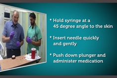 Video Help Is On Way For Family Caregivers Who Must Draw Blood Or Give Injections  Pinned by OTToolkit.com. Treatment plans and patient handouts for the OT working with physical disabilities and geriatrics.