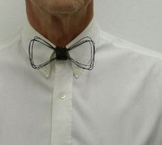 Hey, I found this really awesome Etsy listing at http://www.etsy.com/listing/85606864/metal-wire-neck-bow-tie