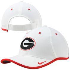 Georgia Bulldogs Nike Coaches Performance Adjustable Hat - White - $27.99