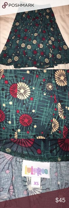 LulaRoe Madison skirt XS Beautiful Madison! Never been worn except to try on. LuLaRoe Skirts High Low