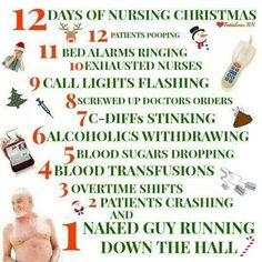 """Every single time. Especially in Psych hospitals or wards or units....... or even in Nursing homes and when you do Home Health.... all things I have done... even worked just """"regular old Med/Surg..."""" back in the day.... and I tell you, everyone is nutz during the HOLIDAYS!!"""