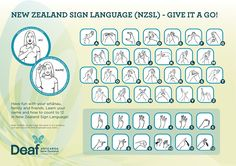 nz sign language - Google Search