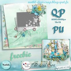 #digiscrap #digifree les scraps de NathL - QP free from kit Air and Sea by Marilou - 1920x1080px - 1440x900px