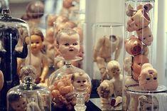 body parts, creepy, doll heads, doll parts, dolls, heads