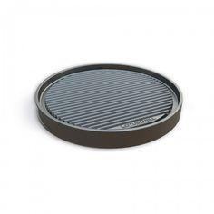 Progettata per posizionarsi perfettamente sopra la griglia del Lotus Grill sia base che XL. Facile da pulire grazie allo speciale rivestimento antiaderente. La piastra può essere utilizzata da entrambi i lati: ha un lato con superficie liscia e un lato con superficie grigliata. Diametro cm 29.