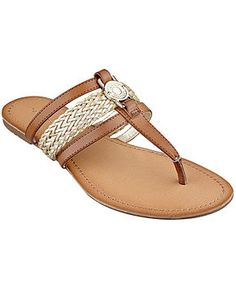 Tommy Hilfiger Women's Liz Thong Sandals - Shoes - Macy's