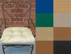 Patio Chair Cushions, Patio Chairs, Vanity Bench, Larger, Taupe, Outdoor Living, Cool Stuff, Gallery, Bed