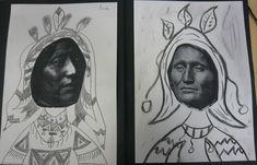 portrait arts visuels cp - Recherche Google