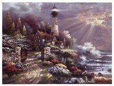 Coastal Splendor, Art Print by James Lee