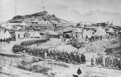 A French Foreign Legion encampment in Morocco, 1912