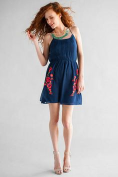 Hermosa Embroidered Dress