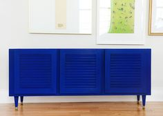 Ace Blogger @yellowbrickhome Updates a Credenza with Ace's Color Match Technology.